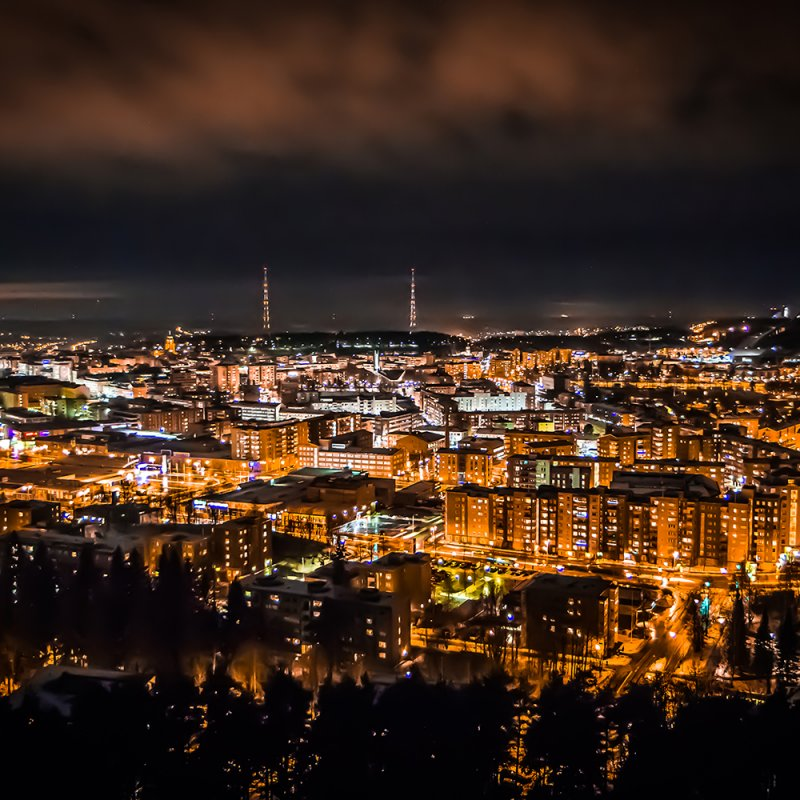 Lahti by night
